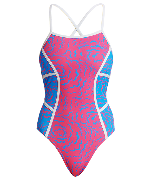 Funkita In the Cloud Colour Block Strapped In