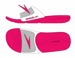 Atami Slide Junior Pink/White