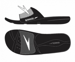 Atami Slide Junior Black/White