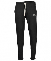 Silver Sweatpant Black