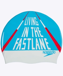 Slogan Cap Living In The Fast Lane