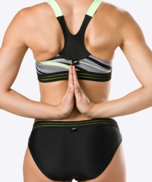 Speedo Reflect Wave Crop Top