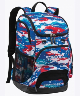 Teamster Backpack Camouflage Red/White/Blue