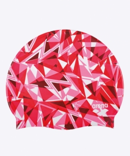 Shattered Glass Cap Red
