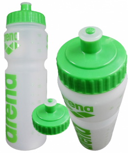 Water Bottle Clear/Green