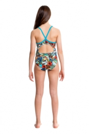 Postcard Paradise Junior Diamond Back One Piece