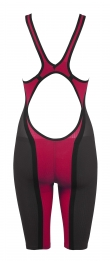 Powerskin Carbon Flex Full Body Short Leg Open Dark-Grey/Red
