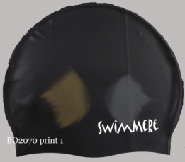 SwimMere Print cap Fish