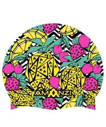 Amanzi Pineapple Punch Swim Cap