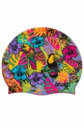 Tropicana Swim Cap (badmuts) van Amanzi te koop bij SwimMere zwemsport