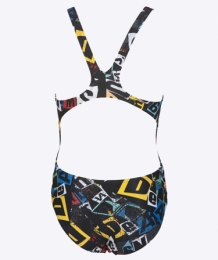 Rowdy Junior Tech Back black/multi