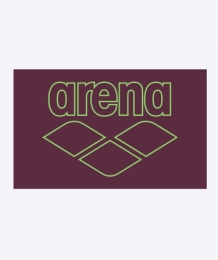 Arena Microfiber Pool Towel Smart red wine/shiny green