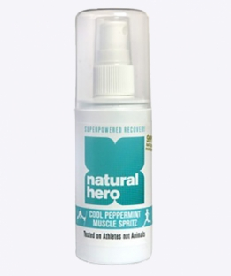 Natural Hero Cool Peppermint Muscle Spritz