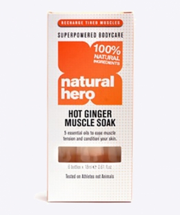 Natural Hero Hot Ginger Muscle Soak